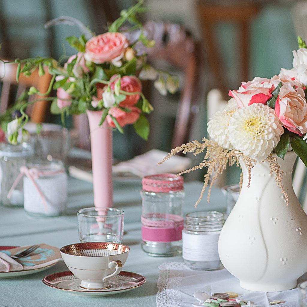 Die retter der tafelrunde verleih von vintage porzellan for Verleih und dekoration